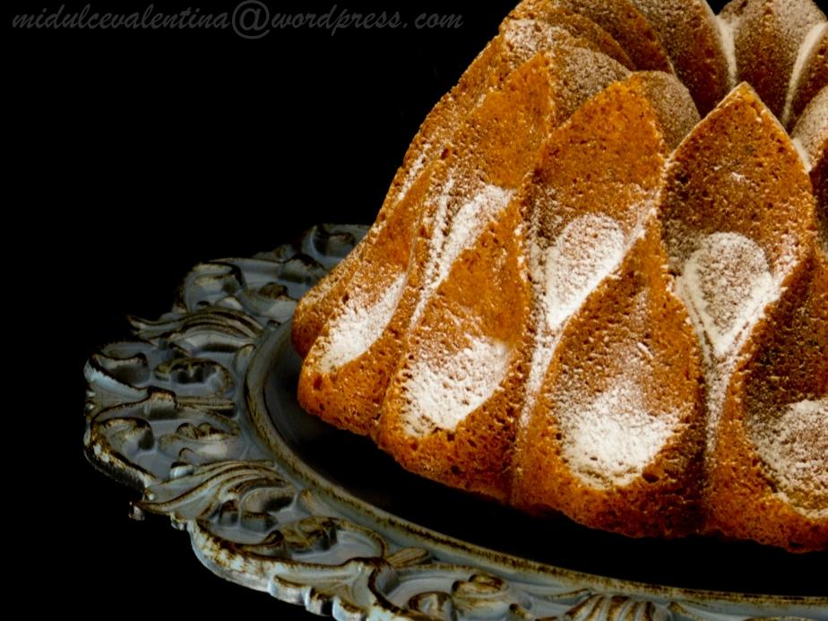 Bundt Cake de Melocotón yNueces
