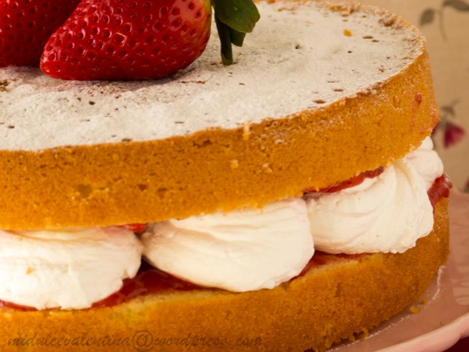 Victoria Sponge Cake por SanValentin