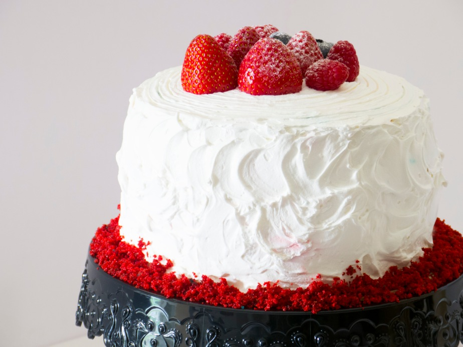 Red and Blue Velvet LayerCake