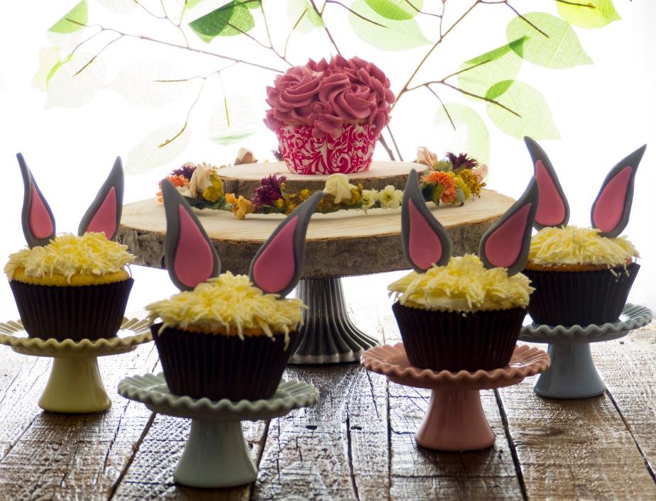 Cupcakes de Limon con LemonCurd