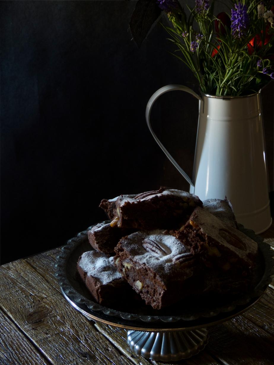 Brownie de Chocolate conNueces