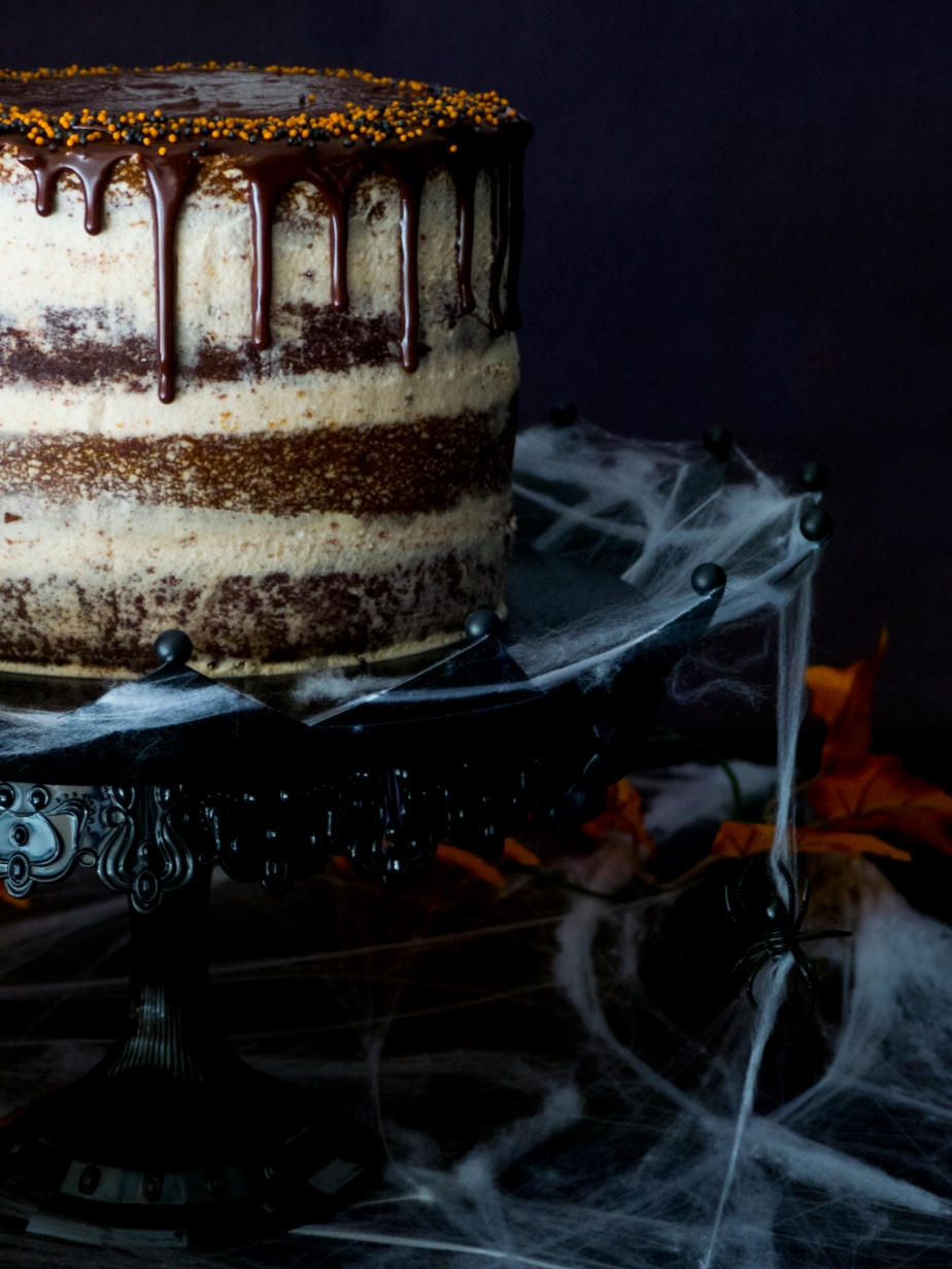 LAYER CAKE DE CALABAZA Y CHOCOLATE