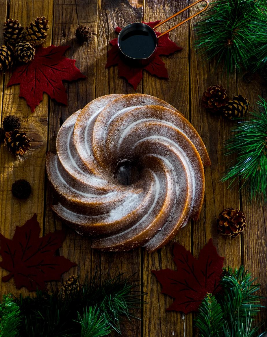BUNDT CAKE DE JENGIBRE Y MELAZA{GINGERBREAD}